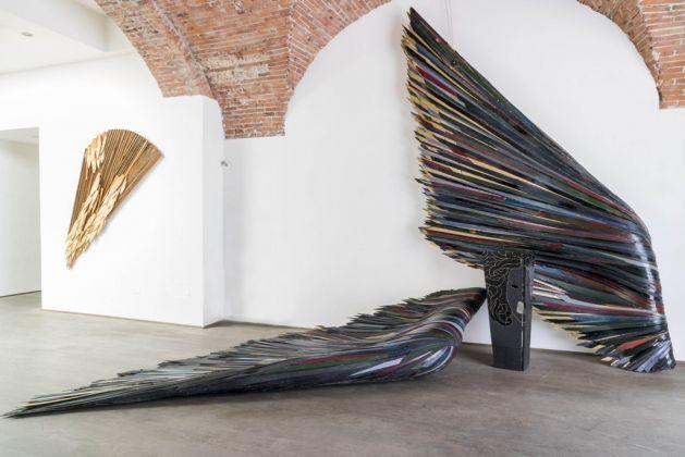 Mario Ceroli, Annunciazione del III Millennio, 1999