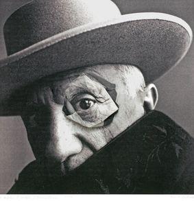 Mario Cresci D'après Picasso Penn, 2015
