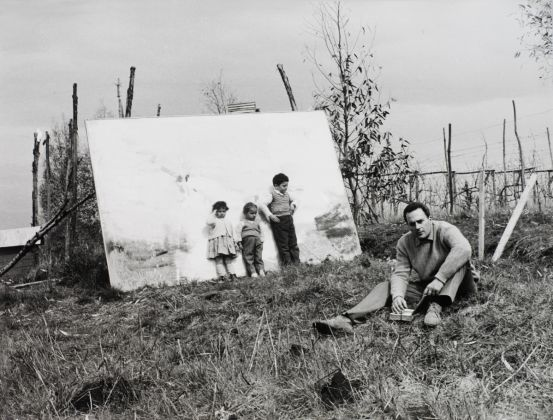 Mario Dondero, Gastone Novelli, Roma, 1962