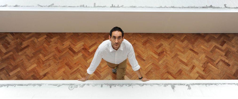 Matteo Pericoli, photo Michael Bowles