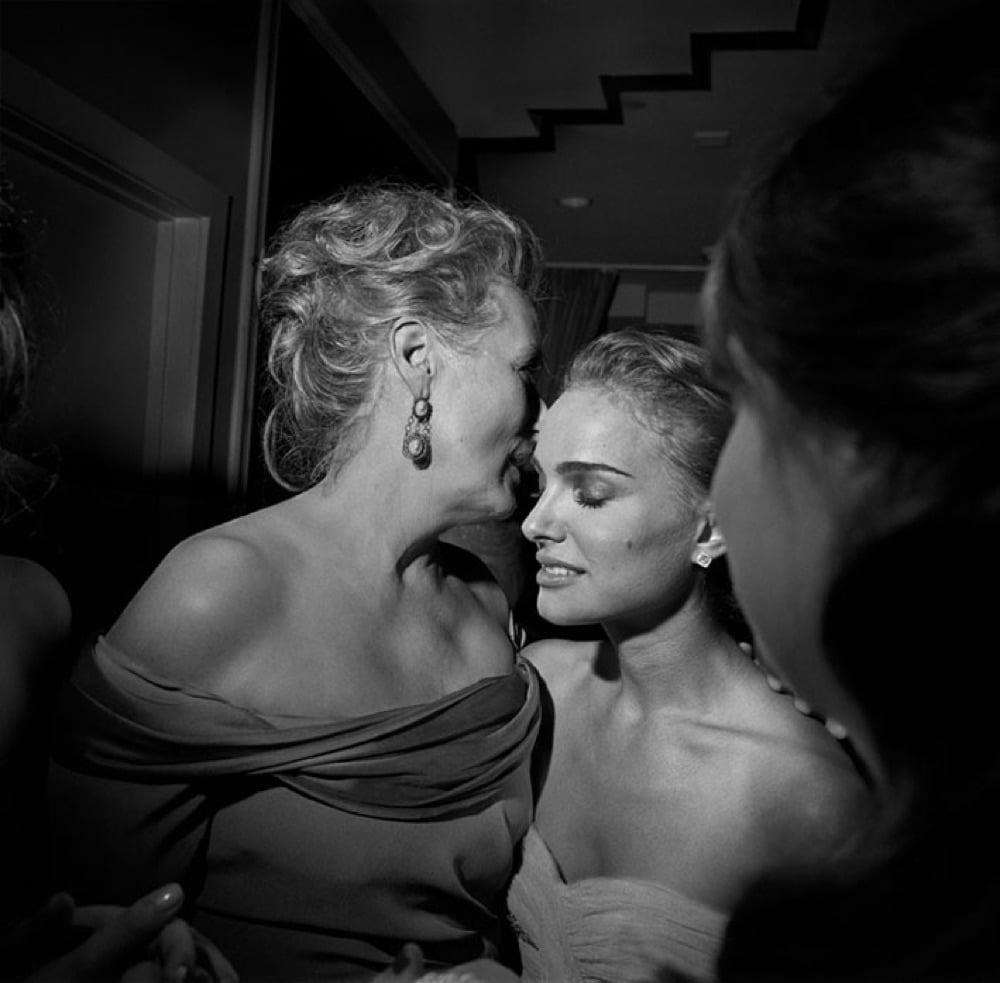 Meryl Streep e Natalie Portman, Los Angeles, Los Angeles, 2009, photo credit Larry Fink