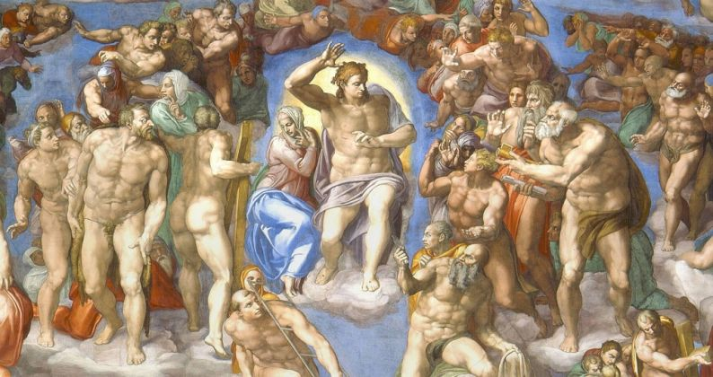 Michelangelo Buonarroti, Giudizio Universale, 1535-41, primo anello