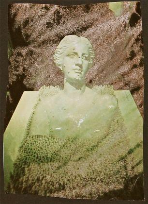 Mimmo Rotella, Il sogno di Venere, 1973, effacage, 28x18 cm, Collezione Gino Monti