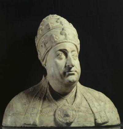 Mino da Fiesole, Busto di Papa Paolo II Barbo, 1464 70 ca. Roma, Palazzo Venezia