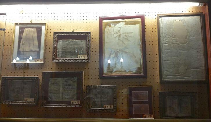 Museo delle Anime del Purgatorio in Roma (vista parziale), photo Nicole Berg