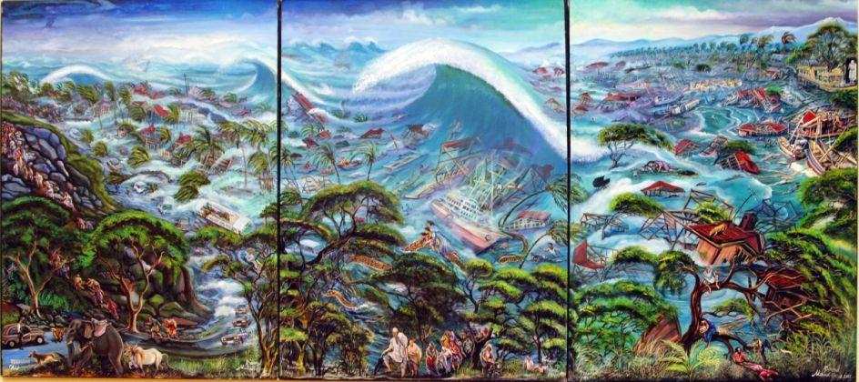 Richard Onyango, Tsunami, 2005, © Richard Onyango, courtesy CAAC - The Pigozzi Collection, Ginevra