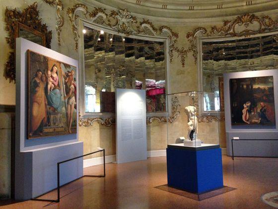 Ordine e bizzarria. Il Rinascimento di Marcello Fogolino. Exhibition view at Castello del Buonconsiglio, Trento 2017