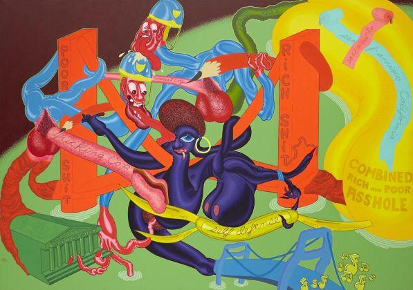 Peter Saul, Self Defense, 1969