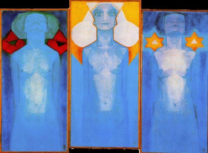 Piet Mondrian, Evoluzione, 1911