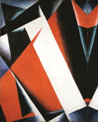Popova Ljubov, Painterly Architectonics, 1918, olio su tela, Courtesy e foto © The State Tretyakov Gallery