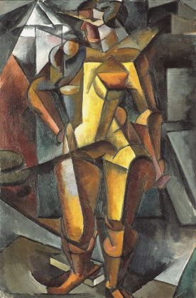 Popowa Ljubow, Female model, 1913, olio su tela, © The State Tretyakov Gallery
