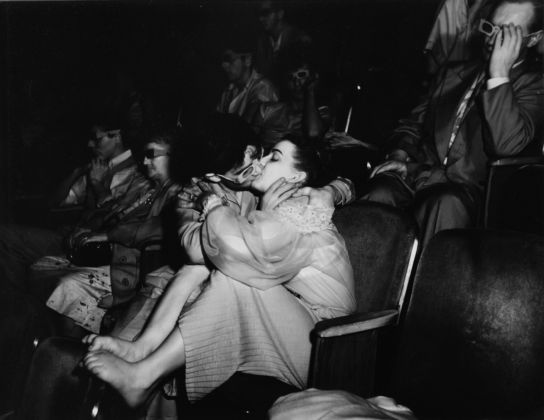 Proiezione in 3D a Teatro, Weegee International Center of Photography Courtesy Colección M. M. Auer