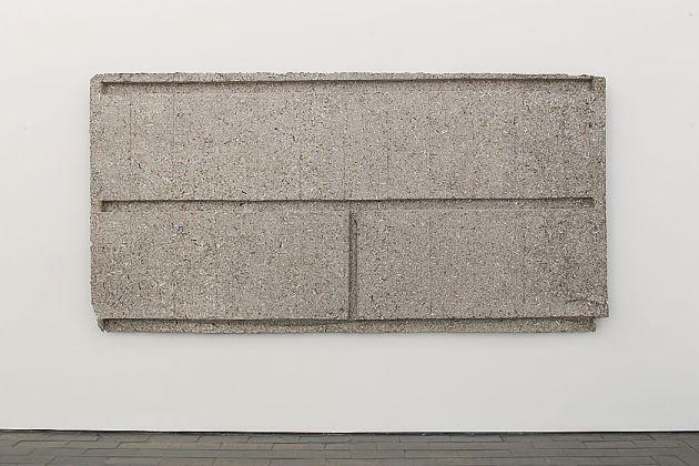 Rachel Whiteread, Wall (Beams), 2017, courtesy of Galleria Lorcan O'Neill