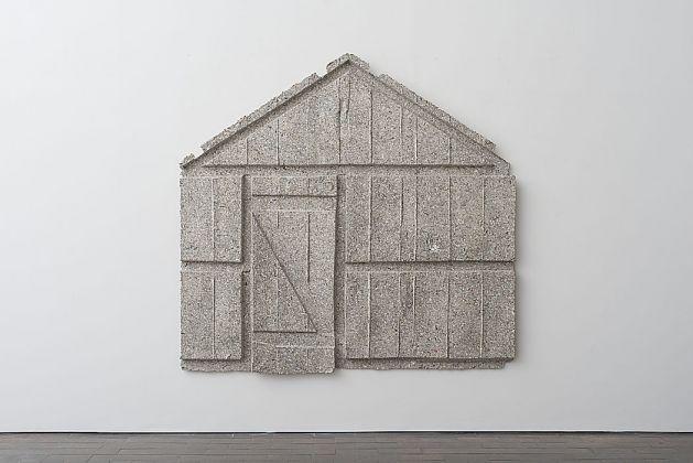 Rachel Whiteread, Wall (Door), 2017, courtesy of Galleria Lorcan O'Neill
