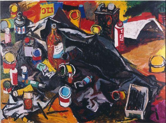 Renato Guttuso, Lo studio dell'Artista, 1963