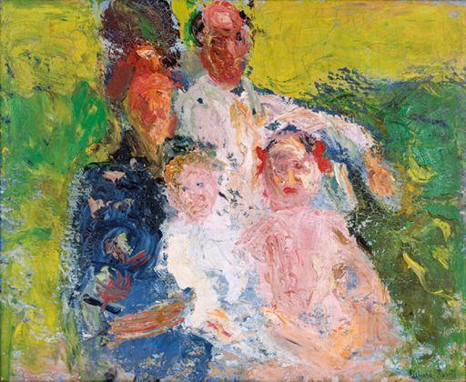Richard Gerstl - La famiglia Schönberg - 1908