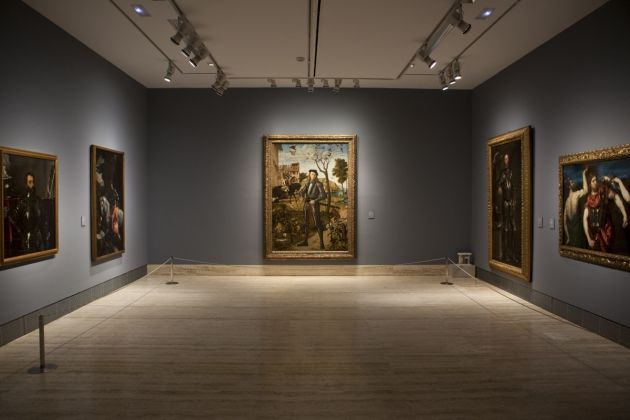 Rinascimento a Venezia, exhibition view at Museo Thyssen-Bornemisza, Madrid 2017