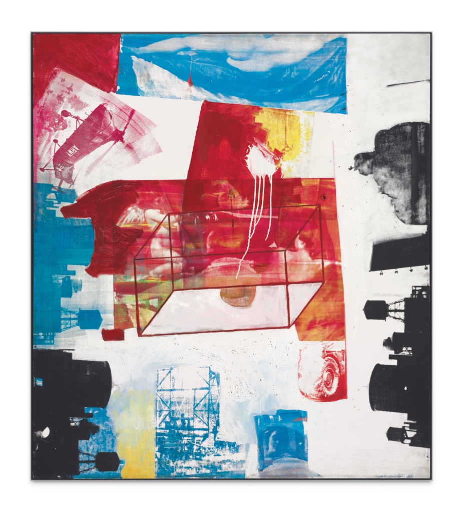 Robert Rauschenberg, Transom, 1963