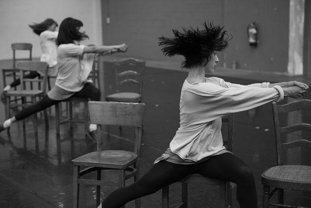 Rosas danst Rosas, Repetities 2017©Anne Van Aerschot