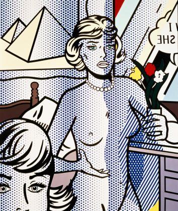 Roy Lichtenstein, Nude with pyramid, courtesy postmedia books