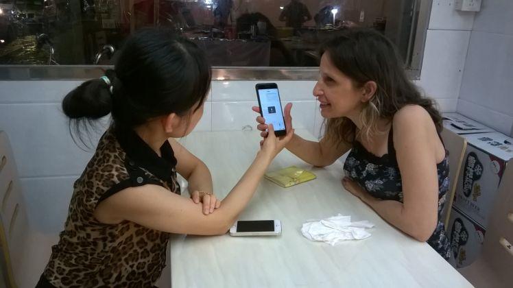 Sabrina Muzi, Handshake 302 di Baishizhou a Shenzhen, Cina