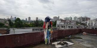 Sabrina Muzi, Wandering Baishizhou, 2017, Handshake 302 di Baishizhou a Shenzhen, Cina