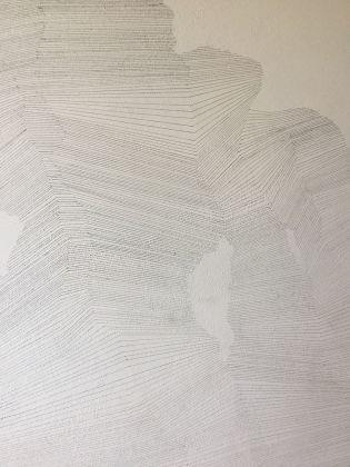 Stefania Zocco, tecnica matita e colori a matita su parete