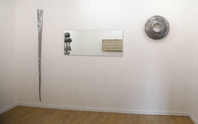 Telemachos Pateris, Sulla Perdita Della Memoria, exhibition view at O' Vascio Room Gallery, Somma Vesuviana, 2017