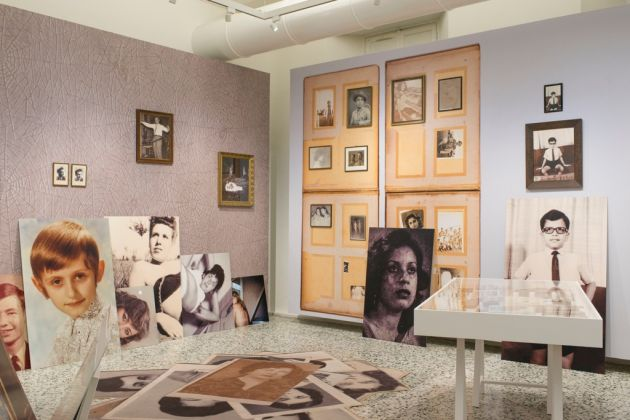 The Many Lives of Erik Kessels. Exhibition view at Camera, Torino 2017. Photo Guido Montani