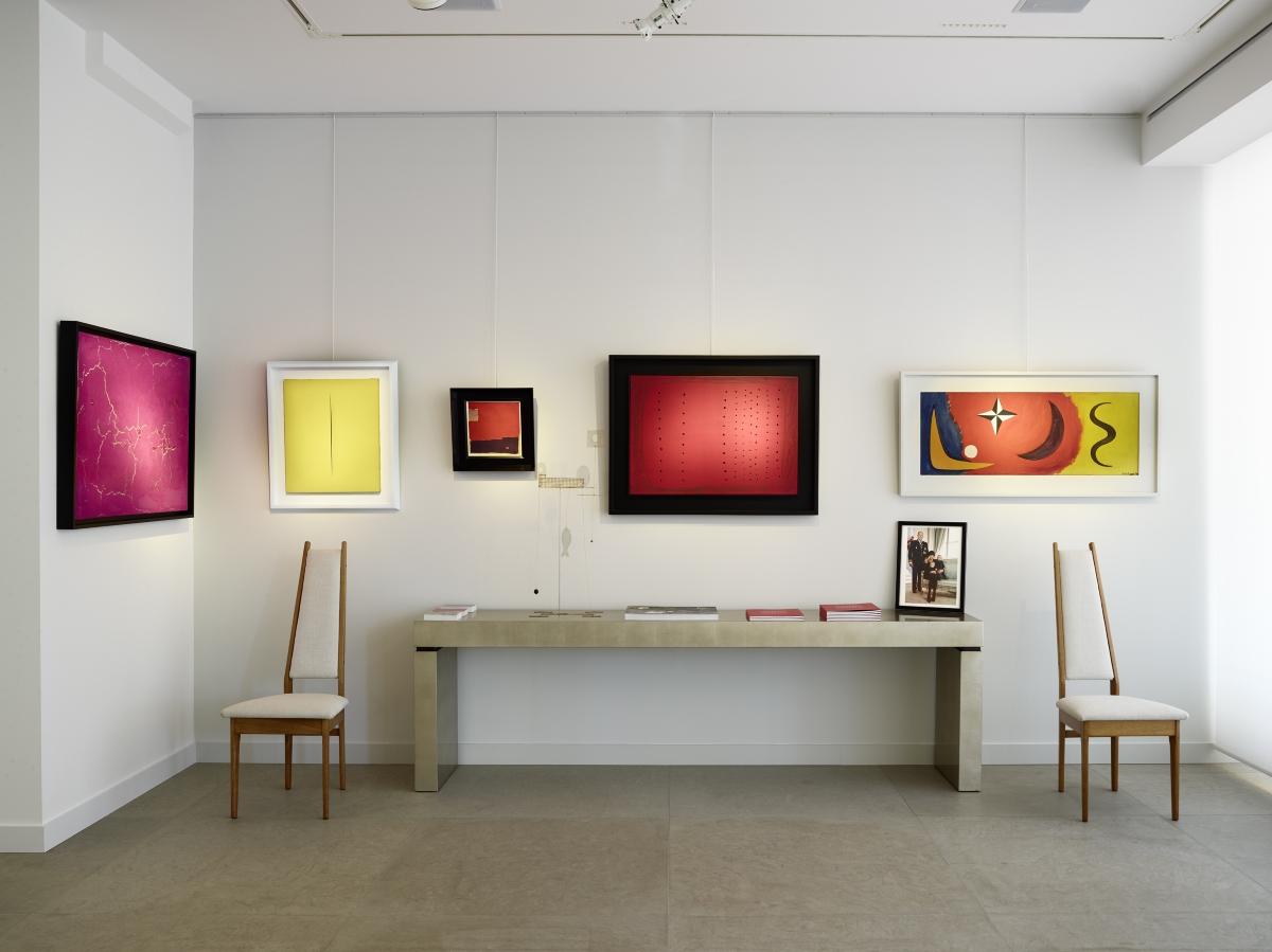 The meeting of Masters, exhibition view at Galerie De Jonckheere, Principato di Monaco, 2017