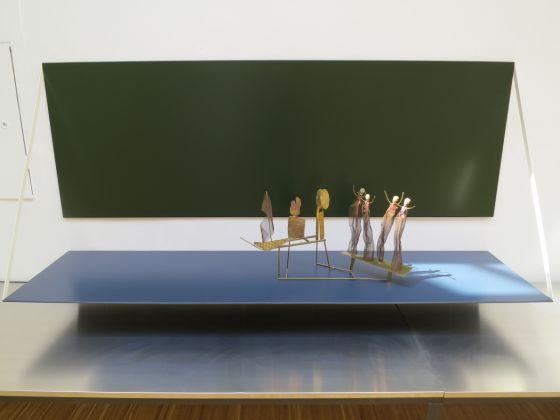 Thea Djordjadze – Fausto Melotti. Abbandonando un'era che abbiamo trovato invivibile, exhibition view at La Triennale di Milano, 2017