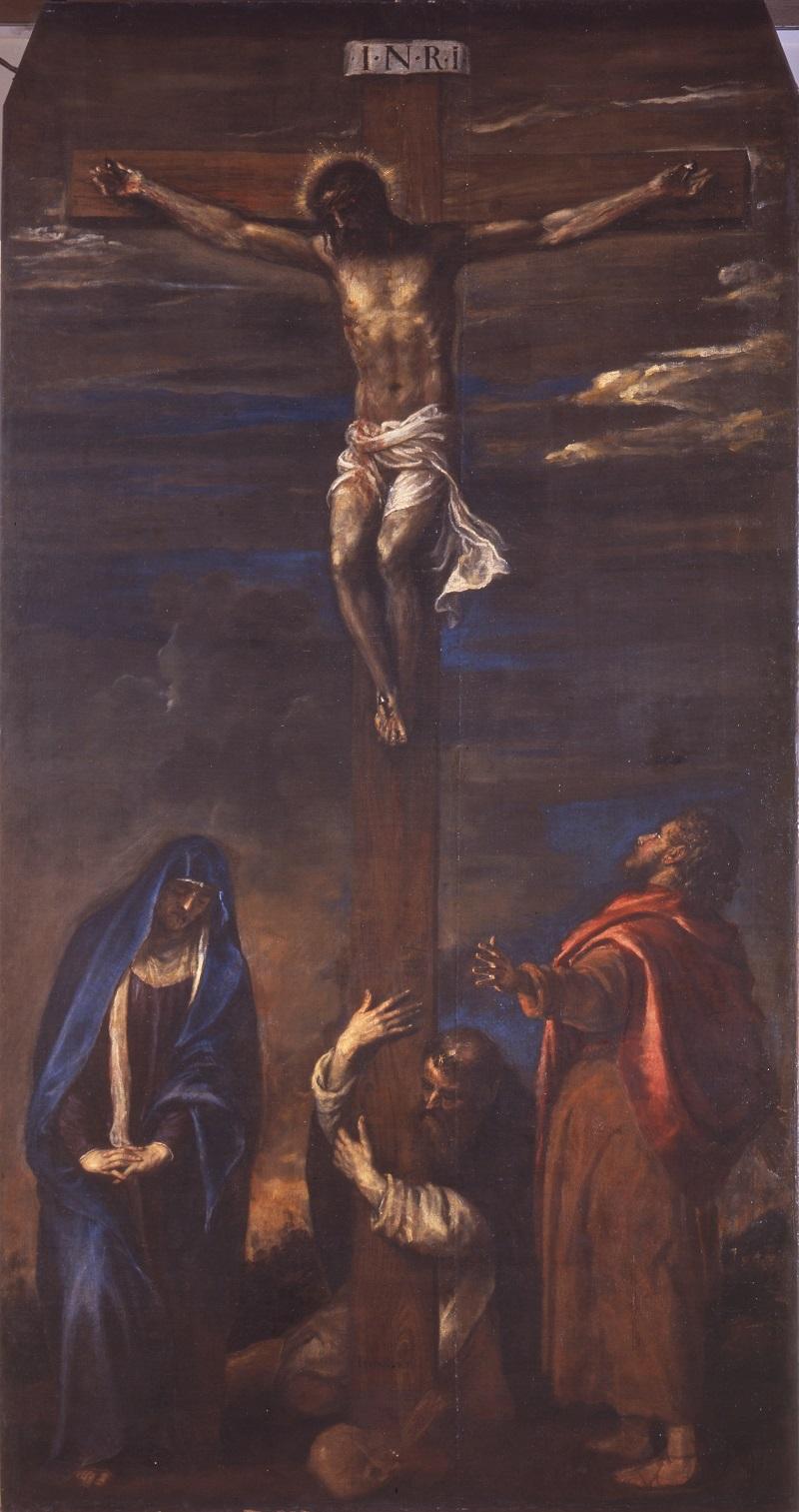 Tiziano, Crocifissione, 1558-1559. Ancona, chiesa di San Domenico