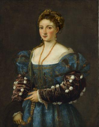 Tiziano, Ritratto di una donna (La Bella), 1536, Gallerie degli Uffizi, Palazzo Pitti, Firenze
