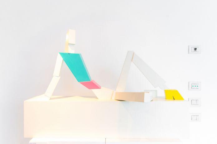 Toys, veduta della mostra