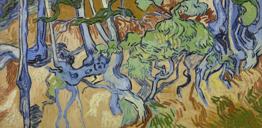 Tree Roots, Auvers sur Oise, July 1890 Vincent van Gogh (1853 1890), oil on canvas, 50.3 cm x 100.1 cm, Van Gogh Museum, Amsterdam (Vincent van Gogh Foundation)