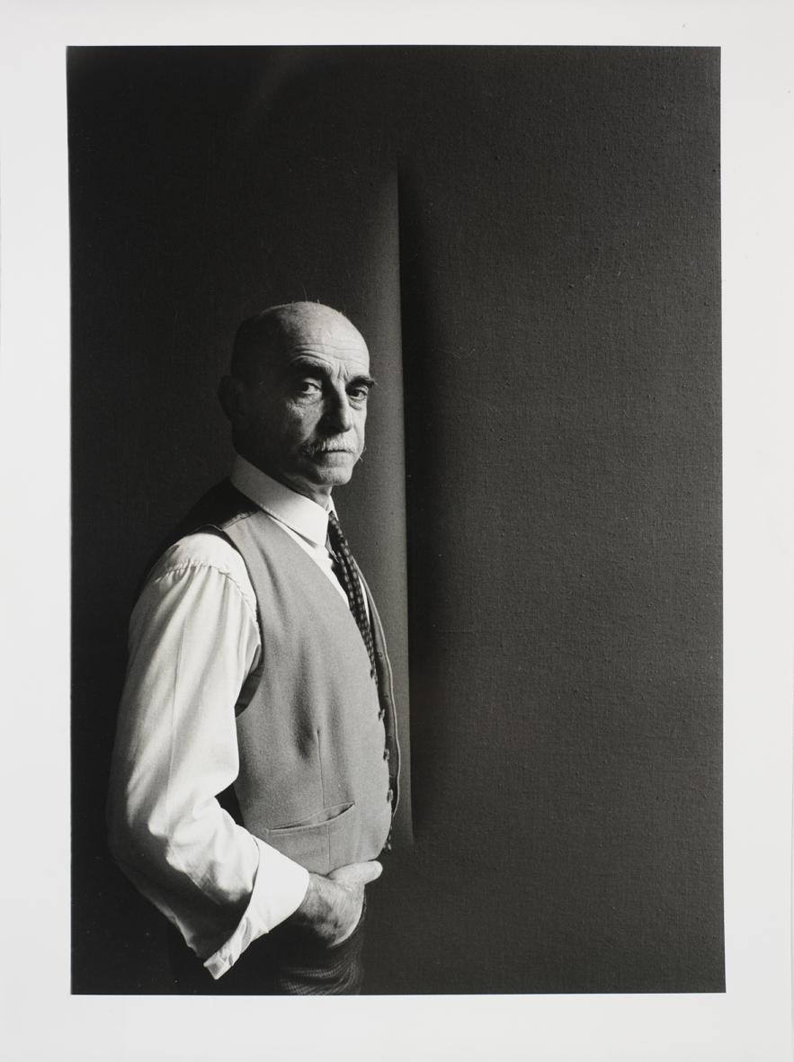 Ugo Mulas Lucio Fontana, 1965