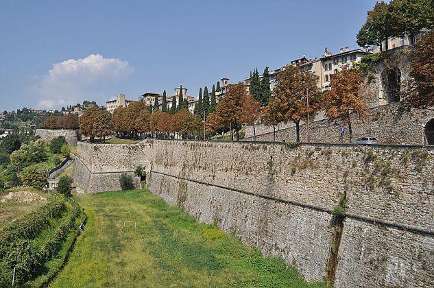 Un tratto delle Mura di Bergamo