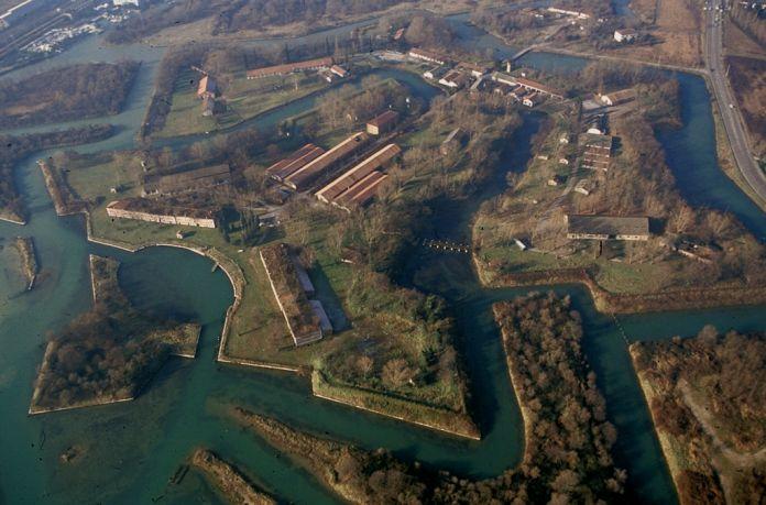 Una veduta di Forte Marghera