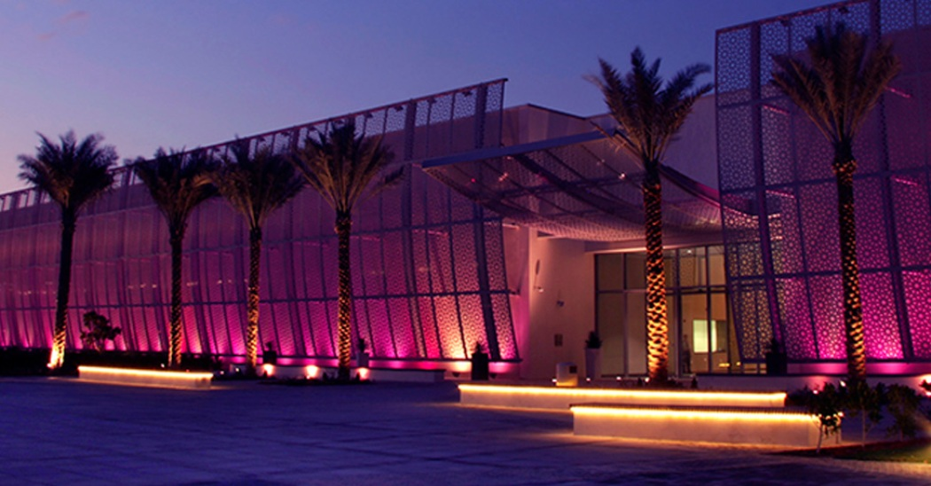 Uno dei padiglioni di Abu Dhabi Art Fair