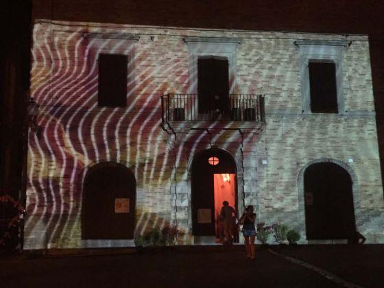 Videomapping, Aesop studio, Blooming, Festival di arti numeriche e culture digital, Pergola 2017