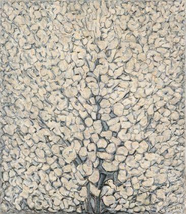 Vilmos Huszár, Bloeiende Appelboom, 1957. Gemeentemuseum Den Haag