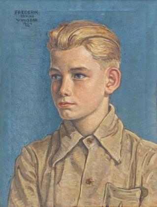 Vilmos Huszár, Ritratto di Frederik, 1954. Collezione privata © TonPors 2017