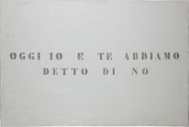 Vincenzo Agnetti, Ritratto, 1971. Courtesy Archivio Vincenzo Agnetti