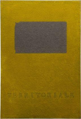 Vincenzo Agnetti, Territoriale, 1971. Courtesy Archivio Vincenzo Agnetti