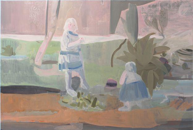Wang Hao, Senza titolo, 2016, olio su tela, 80 x 120 cm