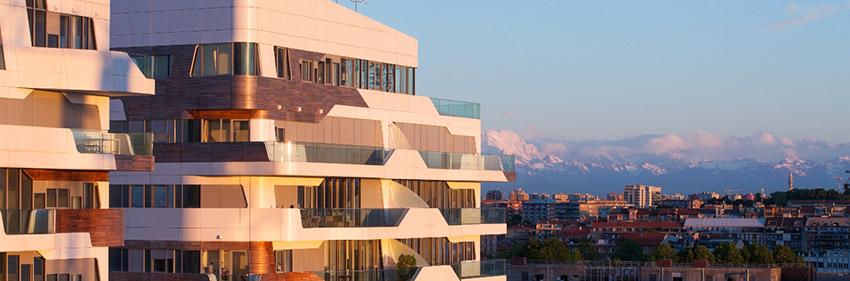 Zaha Hadid, Complesso residenziale City Life, Milano, 2014, foto David Bombelli courtesy Studio Zaha Hadid
