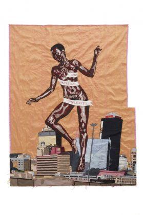 Billie Zangewa, The rebirth of the black venus, 2010, courtesy private collection