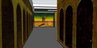 Un primissimo bozzetto digitale del progetto di Francesco Vezzoli