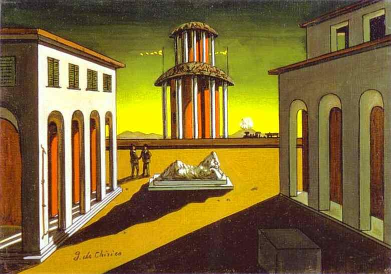 de Chirico, Piazza d'Italia, 1913
