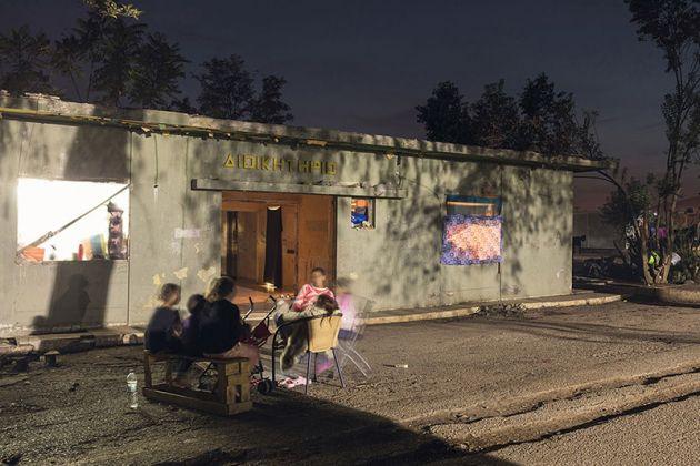 Ritsona Camp, Photo by Delfino Sisto Legnani